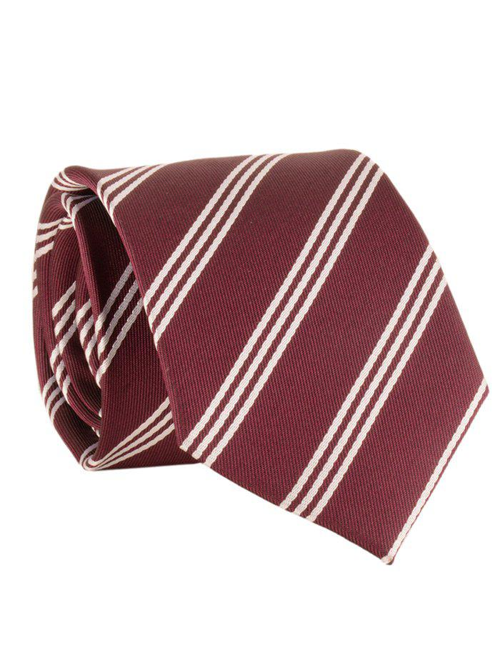 Store Striped Pattern Silky Formal Business Tie