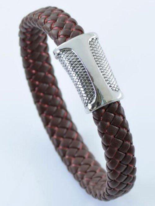 Best Simple PU Leather Rope Braid Bracelet