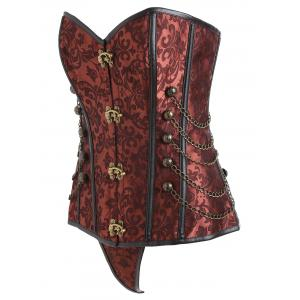 Retro Punk Corset To Wear Out -