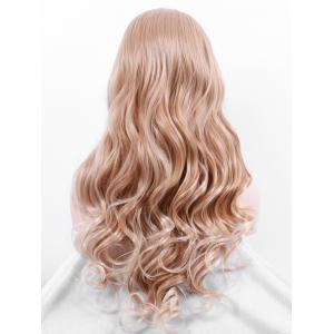 Long Center Parting Wavy Party Synthetic Cosplay Wig -