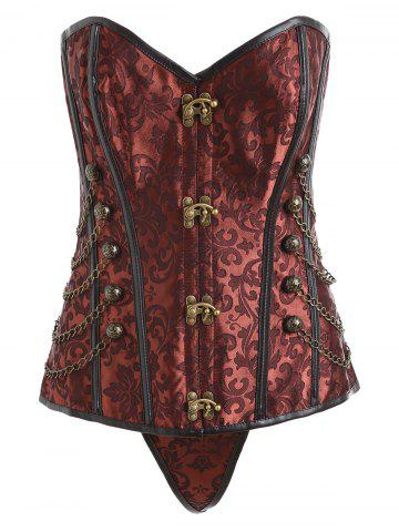 Fancy Retro Punk Corset To Wear Out
