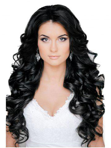 Store Center Parting Long Body Wave Synthetic Wig