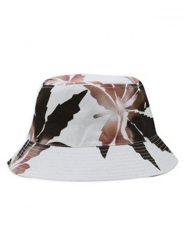 Affordable Painting Leaves Pattern Bucket Hat