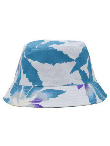 Unique Painting Leaves Pattern Bucket Hat