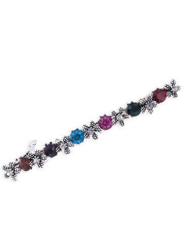 Outfit Floral Faux Gem Embellished Hair Pin