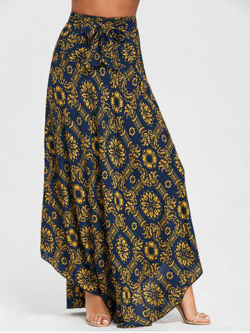 Buy Print Maxi Flowy Skirt
