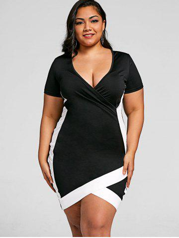 Plus Size Clubwear Trendy White And Black Cheap With Free Shipping