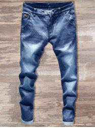 Slim Fit Straight Leg Jeans -