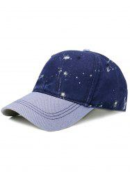 Unique Splash Paint Pattern Baseball Cap -