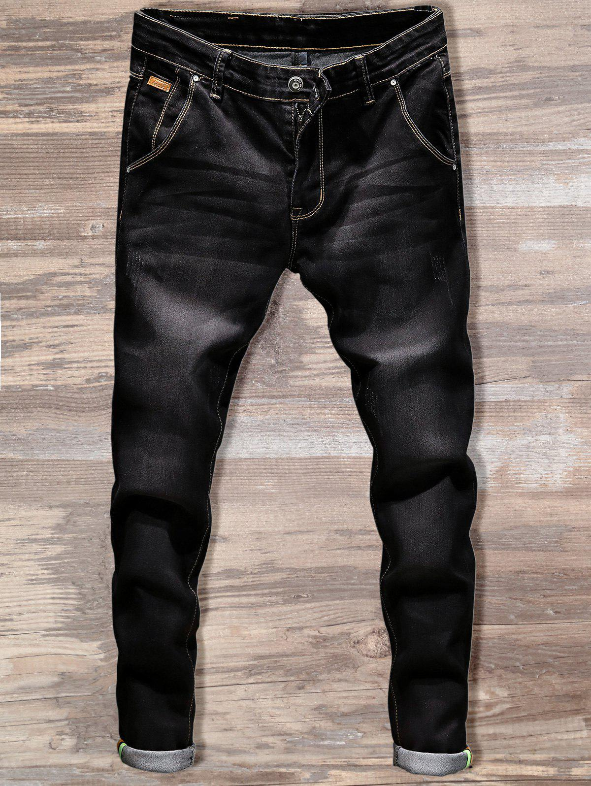 Online Slim Fit Straight Leg Jeans