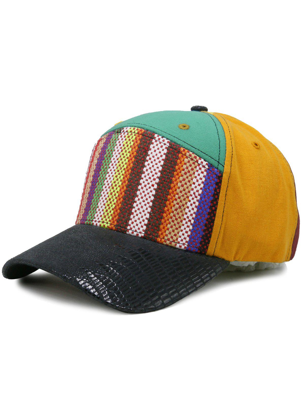 Store Line Embroidery Colored Baseball Cap