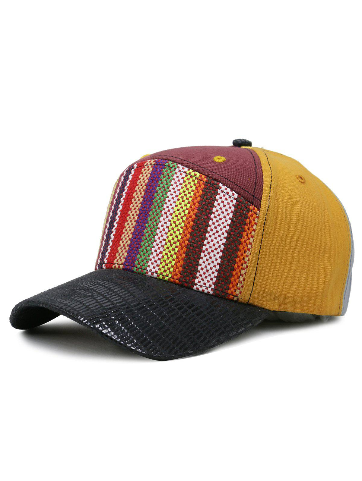 Affordable Line Embroidery Colored Baseball Cap
