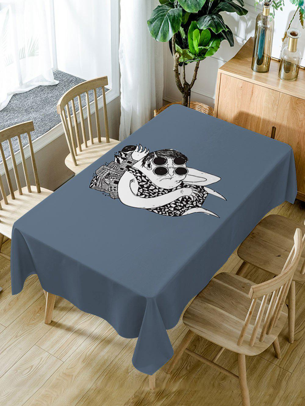 Hot Cartoon Print Waterproof Dining Table Cloth
