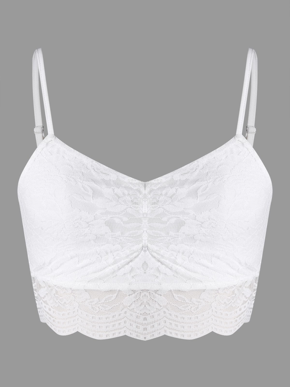 Latest Lace Cami Crop Top