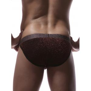 Twinkling Printed U Pouch Briefs -