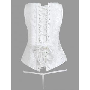 Brocade Steel - Cintre corset cincher -