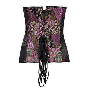 Vintage Brocade Waist Training Corset -