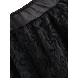 Asymmetric Flounce Party Cosplay Skirt -