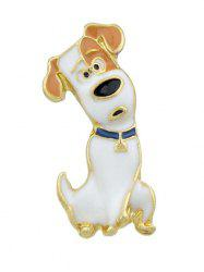 Pet Lovers Gift Dog Pattern Alloy Brooch -