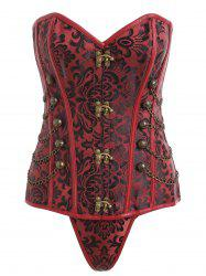 Chains Vintage Trainer Cincher Corset -