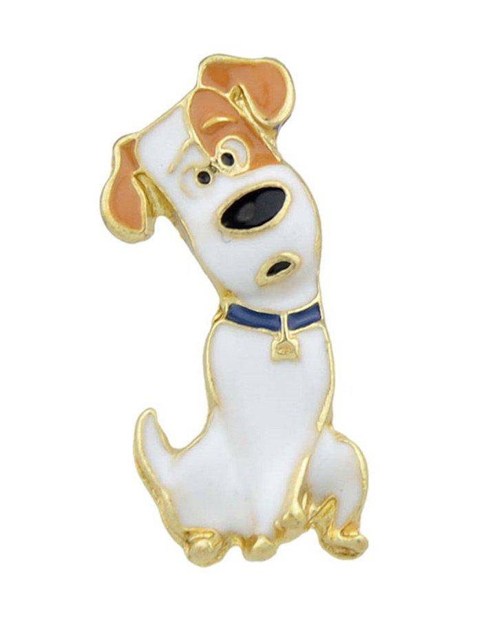 Cheap Pet Lovers Gift Dog Pattern Alloy Brooch