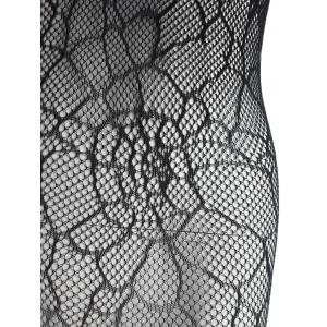 Open Crotch Fishnet Slip Bodystockings -