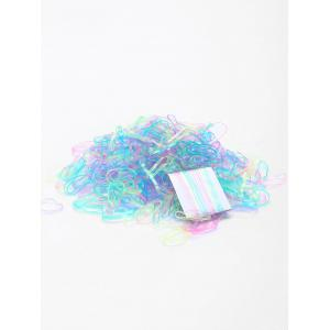 500 Pieces Elastic Rubber Bands Hair Holder -