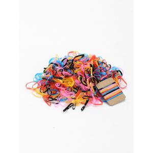 400 Pieces Elastic Band Hair Ties -