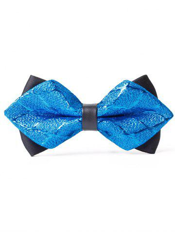 Cheap Vintage Jacquard Weave Pattern Shimmer Bowtie