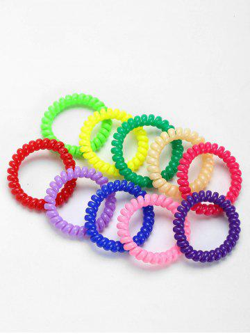 Store Tortile Plastic Elastic Hair Bands Set