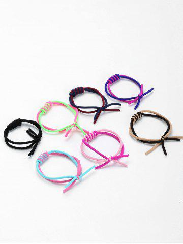 Best Multilevel Circles Embellished Elastic Hair Bands Set