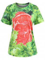Short Sleeve Raw Meat Tee -
