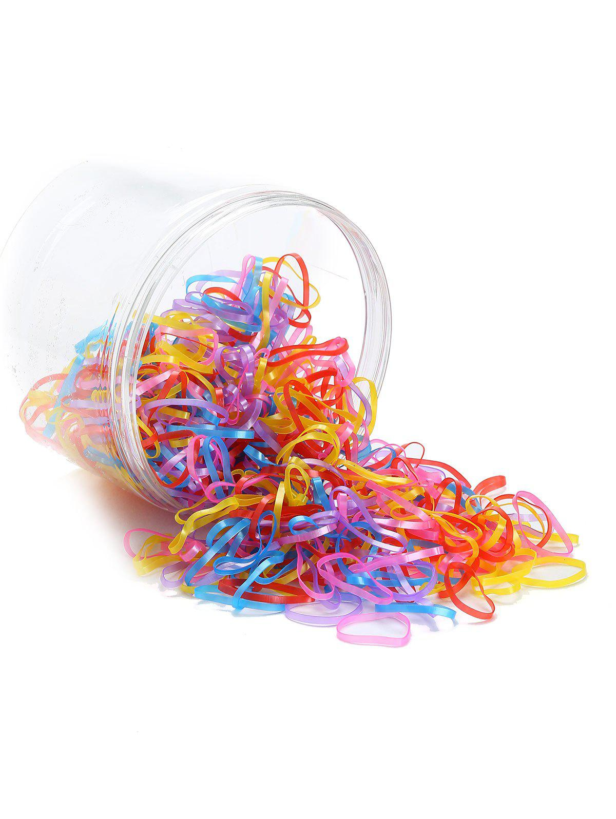 Outfits 500 Pieces Elastic Rubber Bands Hair Holder