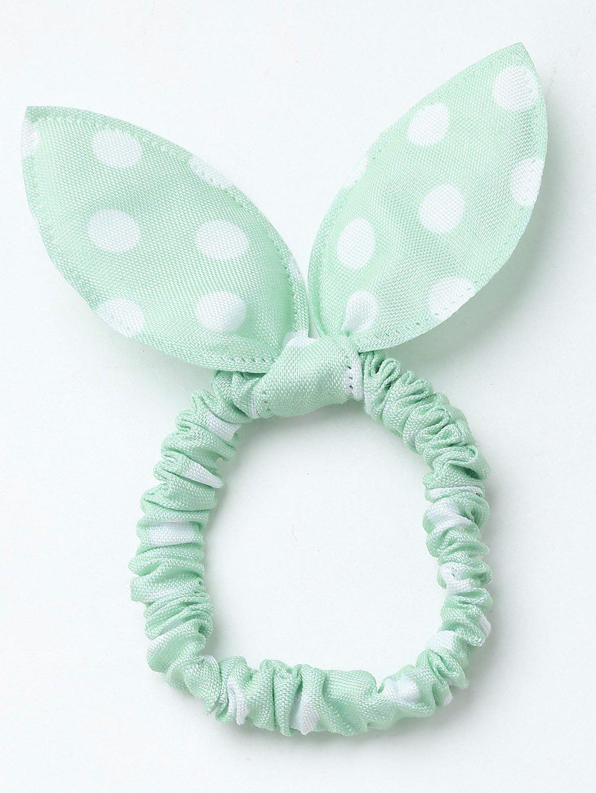 Latest Stertching Polka Dot Bowknot Hair Band