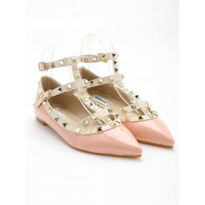 Rivets Cheville Wrap Flats -