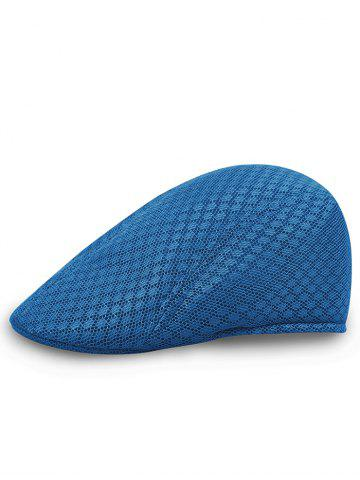 Discount Solid Color Pattern Mesh Cabbie Hat