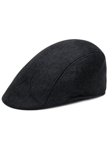 Online Simple Solid Color Breathable Newsboy Cap