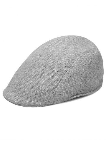 Best Simple Solid Color Breathable Newsboy Cap