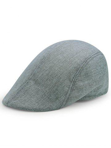 Shops Simple Solid Color Breathable Newsboy Cap