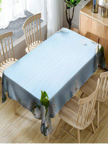 Affordable Flower Pattern Waterproof Table Cloth