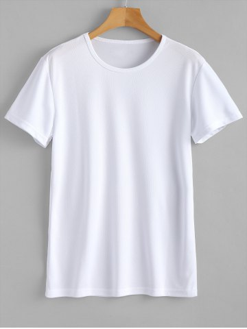 Fancy Waterproof Quickly Dry Eyelet T-shirt