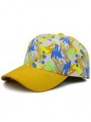 Unique Painting Pattern Adjustable Snapback Hat -