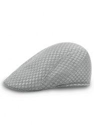 Твердый цветной шаблон Mesh Cabbie Hat -