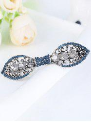 Strass simple pince à cheveux bowknot -