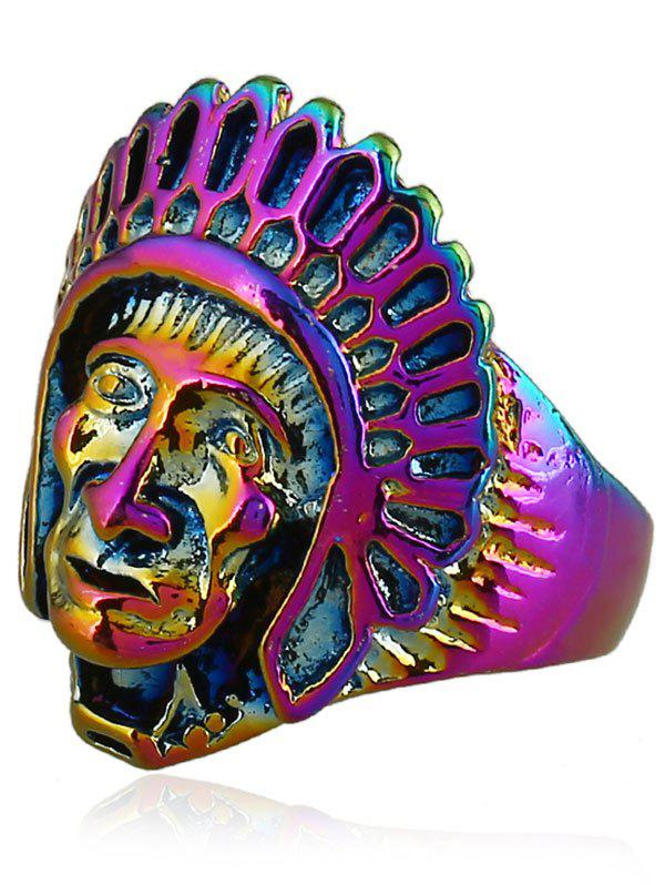Best Retro Native American Head Portrait Ring
