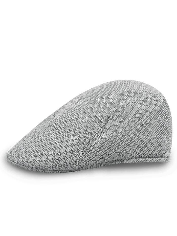 Твердый цветной шаблон Mesh Cabbie Hat