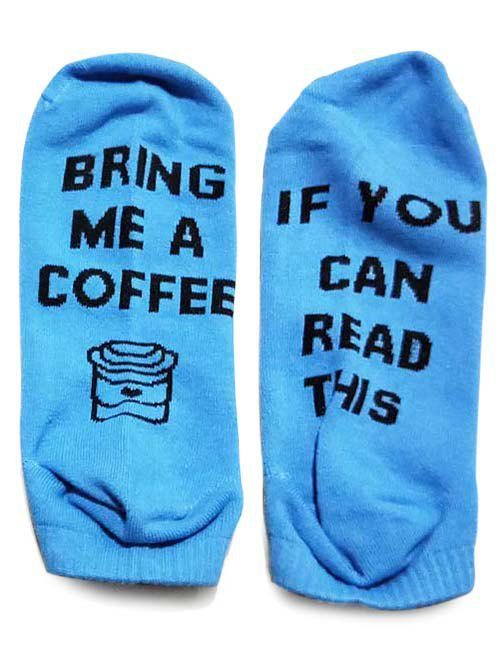 Buy Funny Lettered Ankle Socks