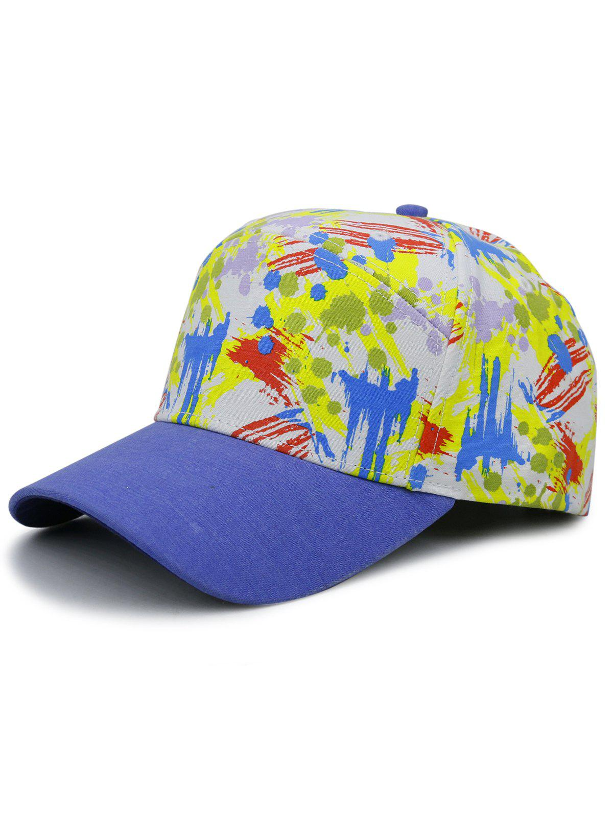 Fancy Unique Painting Pattern Adjustable Snapback Hat