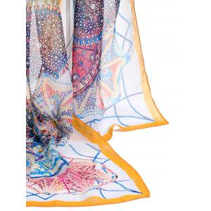 Windmill Pattern Soft Chiffon Spring Fall Scarf -