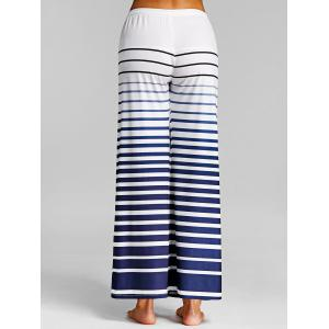 Ombre Stripe Wide Leg Pants -
